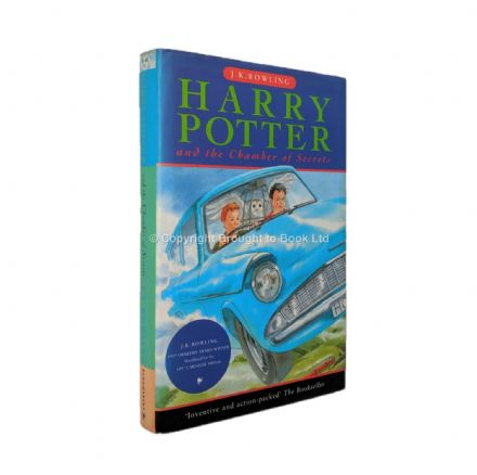 Harry Potter and the Chamber of Secrets by J.K. Rowling First Edition First Printing Bloomsbury 1998